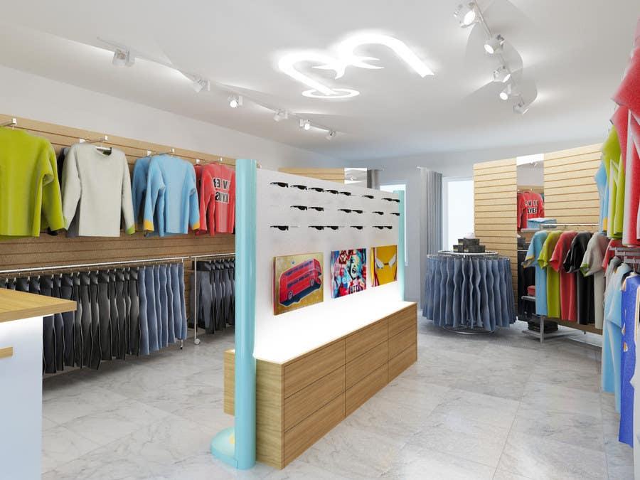 Konkurrenceindlæg #                                        50                                      for                                         Pop-Culture Fashion Shop interior design