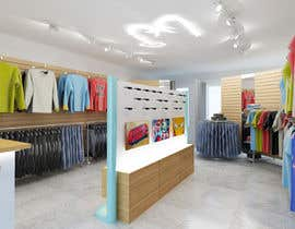 #50 for Pop-Culture Fashion Shop interior design by atmosferaa
