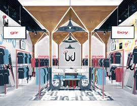 #51 for Pop-Culture Fashion Shop interior design by asimarch123