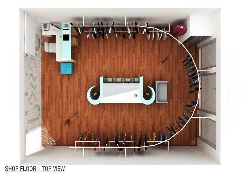 Konkurrenceindlæg #                                        26                                      for                                         Pop-Culture Fashion Shop interior design