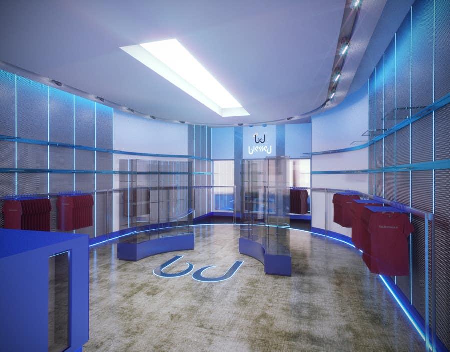 Konkurrenceindlæg #                                        45                                      for                                         Pop-Culture Fashion Shop interior design