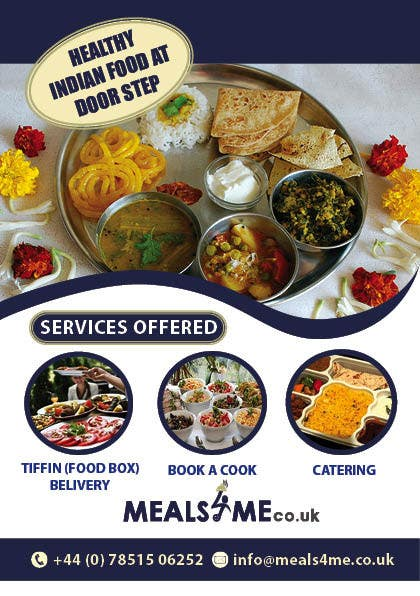 Design A Business Card Flyer For My Food