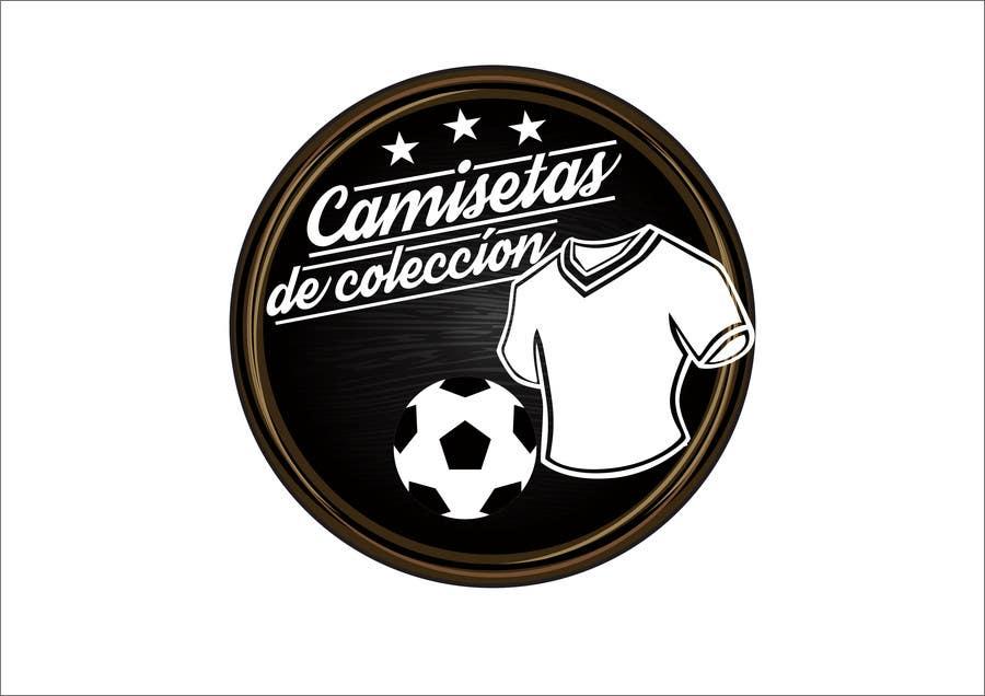 Contest Entry  5 for Diseñar un logotipo for Tienda Online Camisetas de  Futbol Antiguas de 7dd9a381a20be