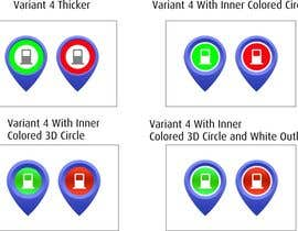 #31 for Improve Icons for map markers by hubbak