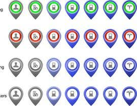 #58 for Improve Icons for map markers af hubbak