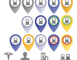 #24 for Improve Icons for map markers af Debabrata09