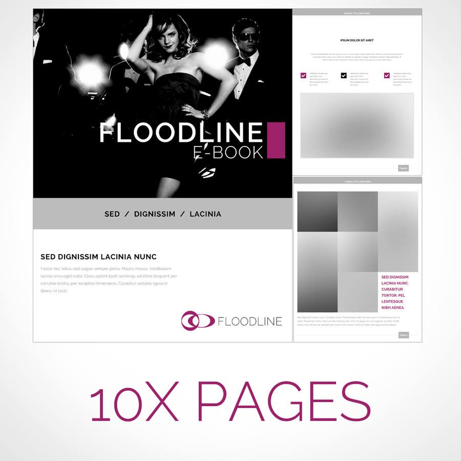 Konkurrenceindlæg #                                        8                                      for                                         Need a Mock up cover page, Chapter index and a individual page for a Fashion e-book