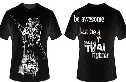 Konkurrenceindlæg #10 for Design a T-Shirt for a Fighter