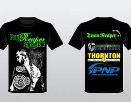 #12 for Design a T-Shirt for a Fighter af phanon