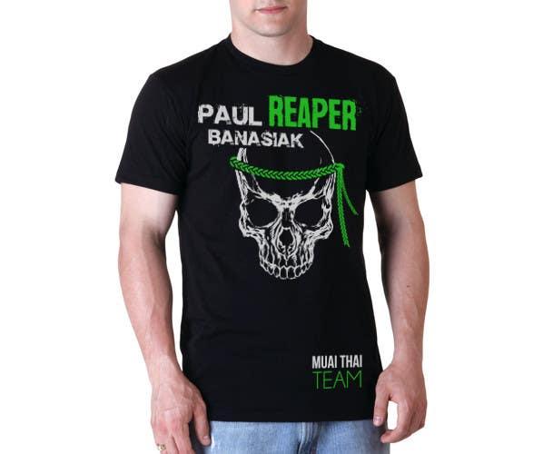 Konkurrenceindlæg #13 for Design a T-Shirt for a Fighter