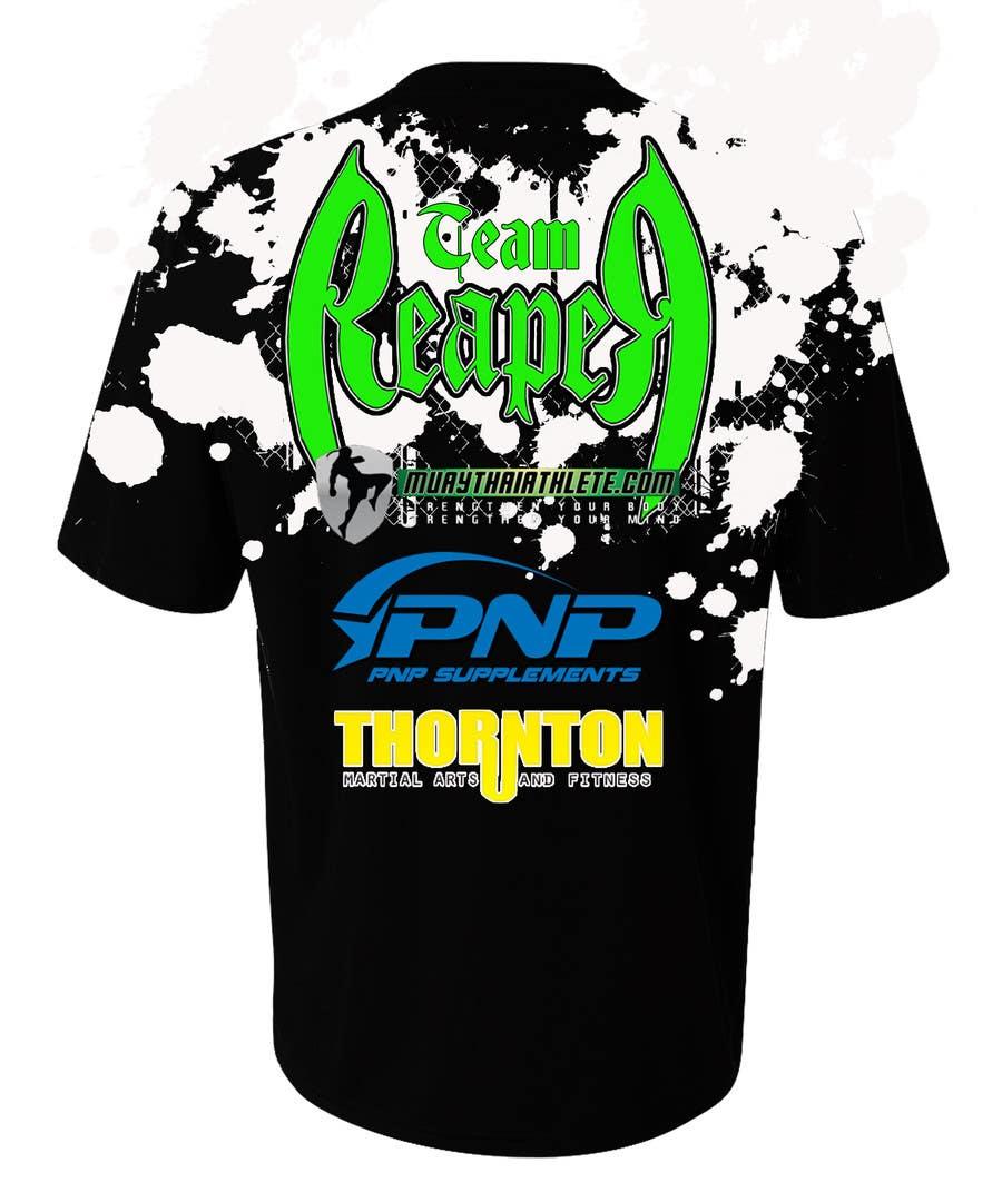 Konkurrenceindlæg #16 for Design a T-Shirt for a Fighter