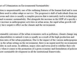 #11 for Write two short articles about SUSTAINABILITY and DESIGN (150 words each) af ProjectKane
