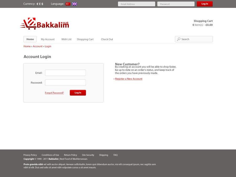 #41 for Design a Website Mockup for ONLINE SUPER MARKET by HailDuong