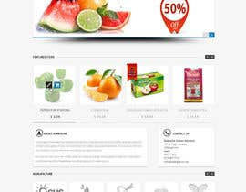 #11 para Design a Website Mockup for ONLINE SUPER MARKET por datagrabbers