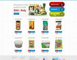 #38 para Design a Website Mockup for ONLINE SUPER MARKET por nitinatom