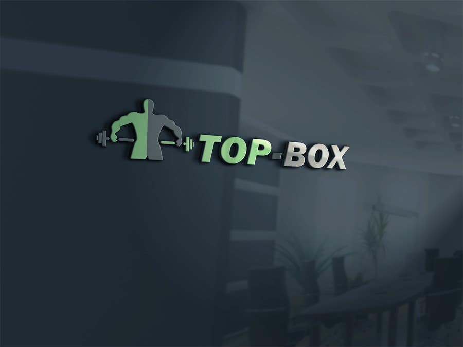 Contest Entry #1 for Logo Design for CrossFit Publication Top Box