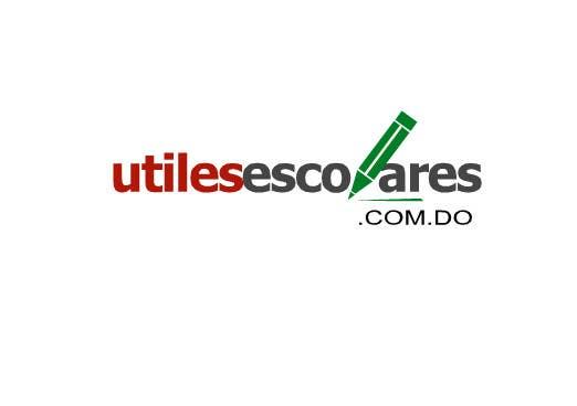 "Kilpailutyö #225 kilpailussa Design a Logo for ""utilesescolares.com.do"" (School Supplies in spanish)"
