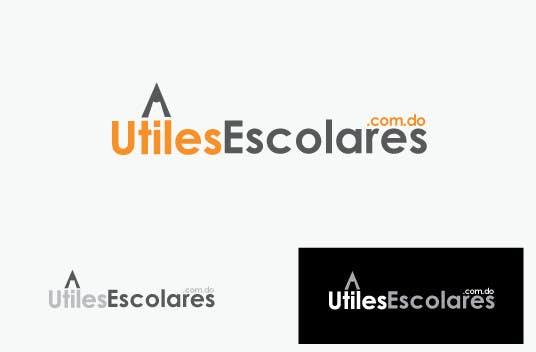 "Kilpailutyö #133 kilpailussa Design a Logo for ""utilesescolares.com.do"" (School Supplies in spanish)"