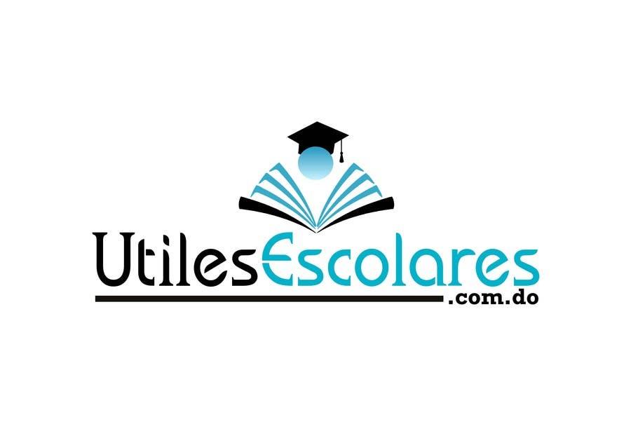 "Kilpailutyö #14 kilpailussa Design a Logo for ""utilesescolares.com.do"" (School Supplies in spanish)"