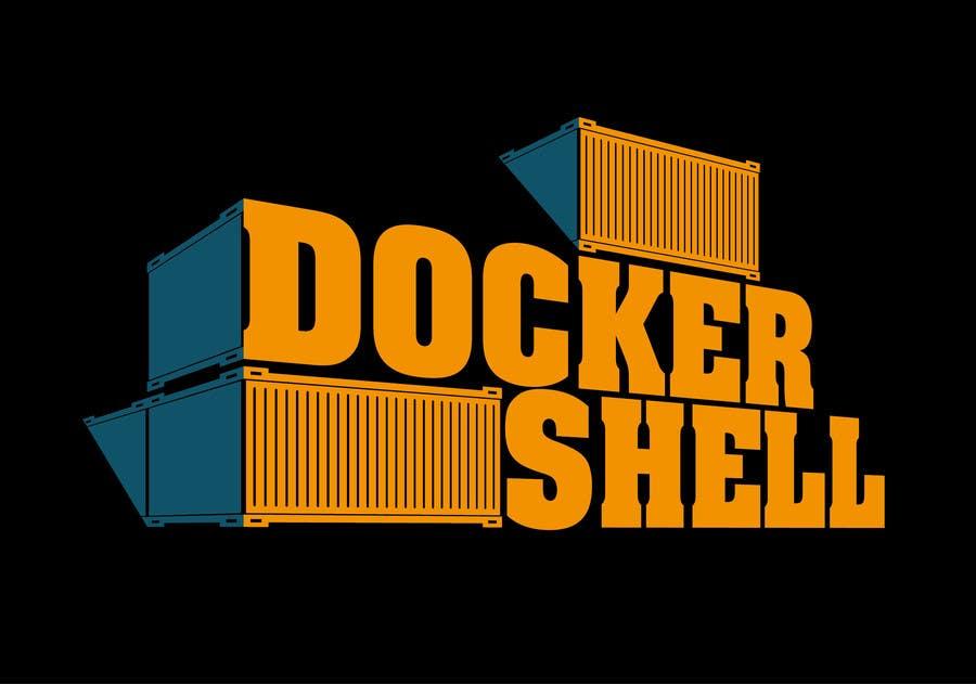 Proposition n°                                        53                                      du concours                                         Design et logo til Docker Shell