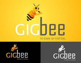 #137 Logo Design for GigBee.com  -  energizing musicians to gig more! részére photoshopkiller által