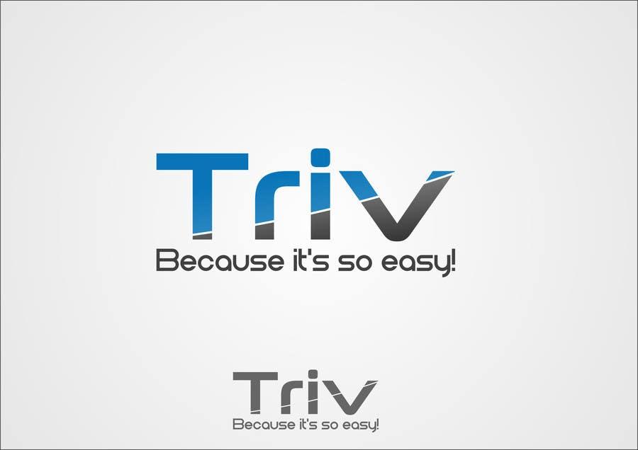 Penyertaan Peraduan #13 untuk Design a logo for triv.ch