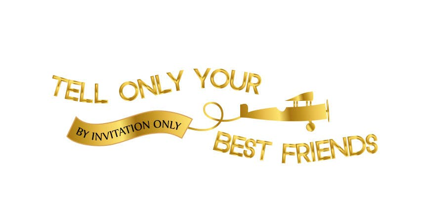 "Kilpailutyö #78 kilpailussa Design a Logo for a luxury travel company ""Tell Only Your Best Friends"""