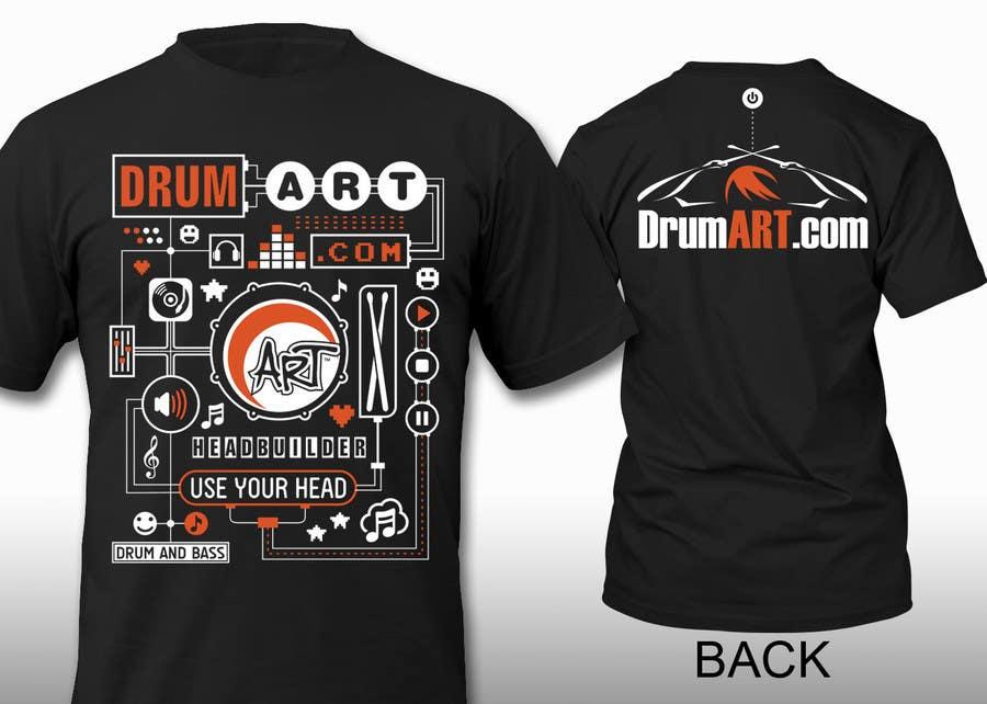 Contest Entry #                                        23                                      for                                         Design a T-Shirt for DrumART.com