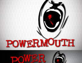 "#48 untuk Logo and Symbol Design for ""POWERMOUTH"", melodic industrial metal band oleh VPoint13"