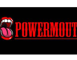 "#52 untuk Logo and Symbol Design for ""POWERMOUTH"", melodic industrial metal band oleh b0gdan018"