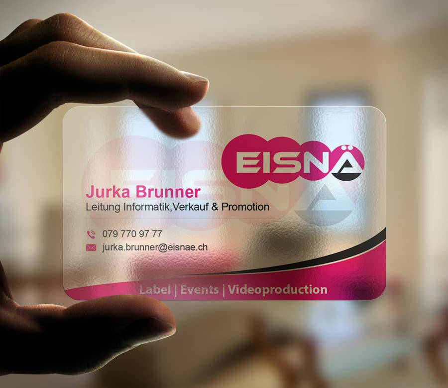 Konkurrenceindlæg #45 for Create a visitcard for our business