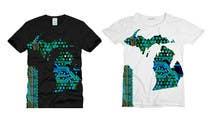 Design a circuit board graphic for a Michigan T-Shirt için Graphic Design45 No.lu Yarışma Girdisi