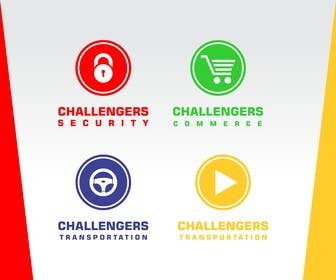#325 cho Design Logos for the Four Verticals of Challengers Event bởi nuwangrafix