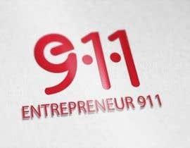#23 untuk Design a Logo for E N T R E P R E N E U R 9 1 1 oleh mlee09