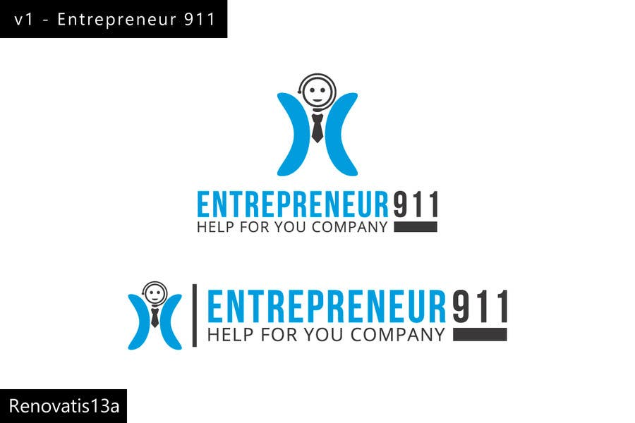 Penyertaan Peraduan #66 untuk Design a Logo for E N T R E P R E N E U R 9 1 1