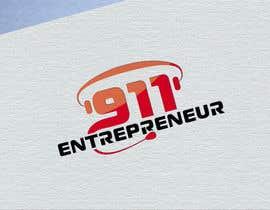 #24 untuk Design a Logo for E N T R E P R E N E U R 9 1 1 oleh Alexandr5000