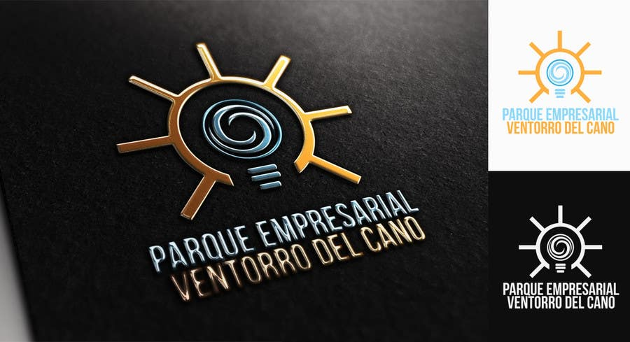 "Illustrator Contest Entry #63 for Diseñar un logotipo for ""PARQUE EMPRESARIAL VENTORRO DEL CANO"""
