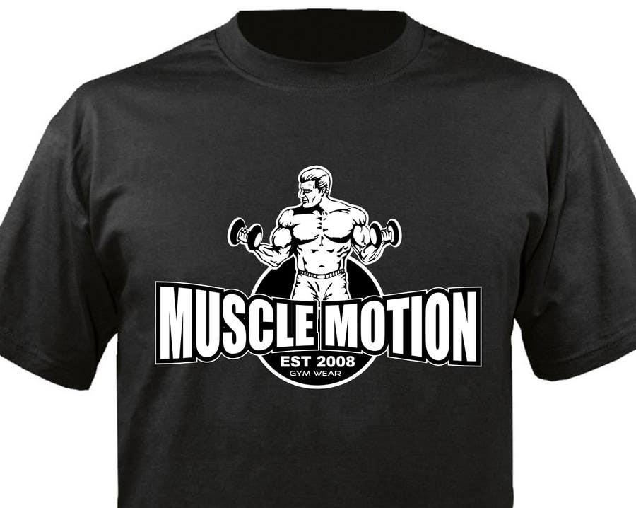 Konkurrenceindlæg #                                        64                                      for                                         Design a T-Shirt for Mens Gym Wear.