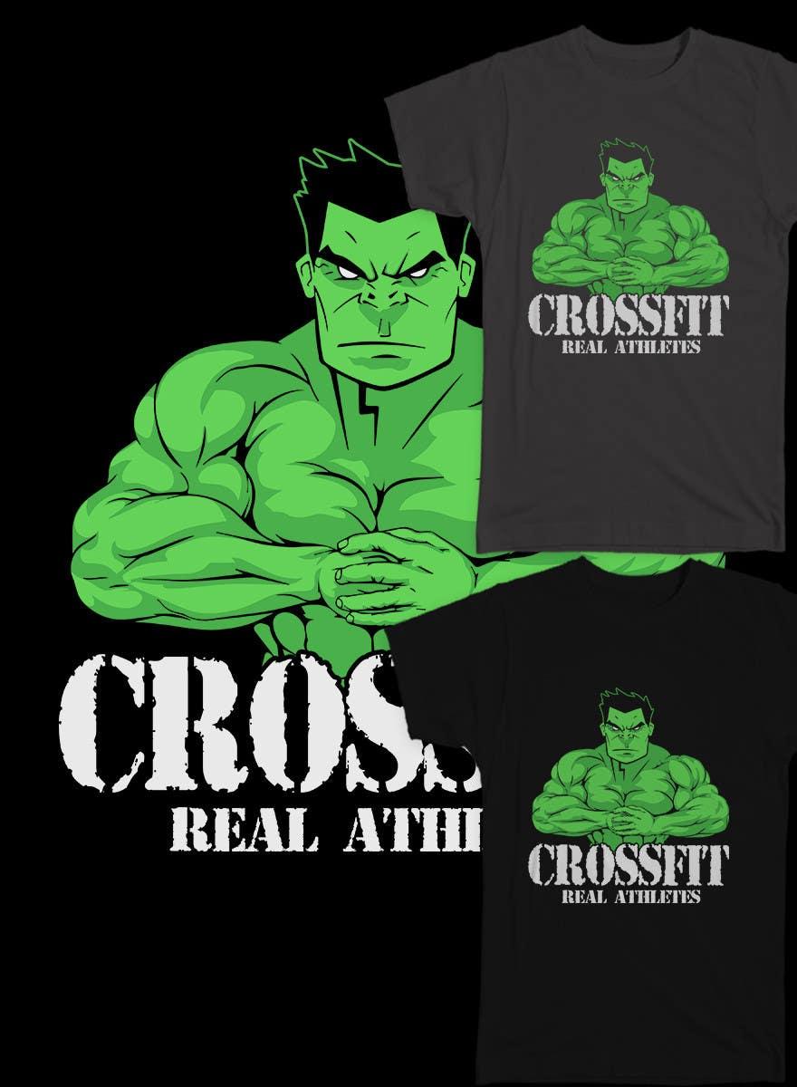 Konkurrenceindlæg #                                        52                                      for                                         Design a T-Shirt for Mens Gym Wear.