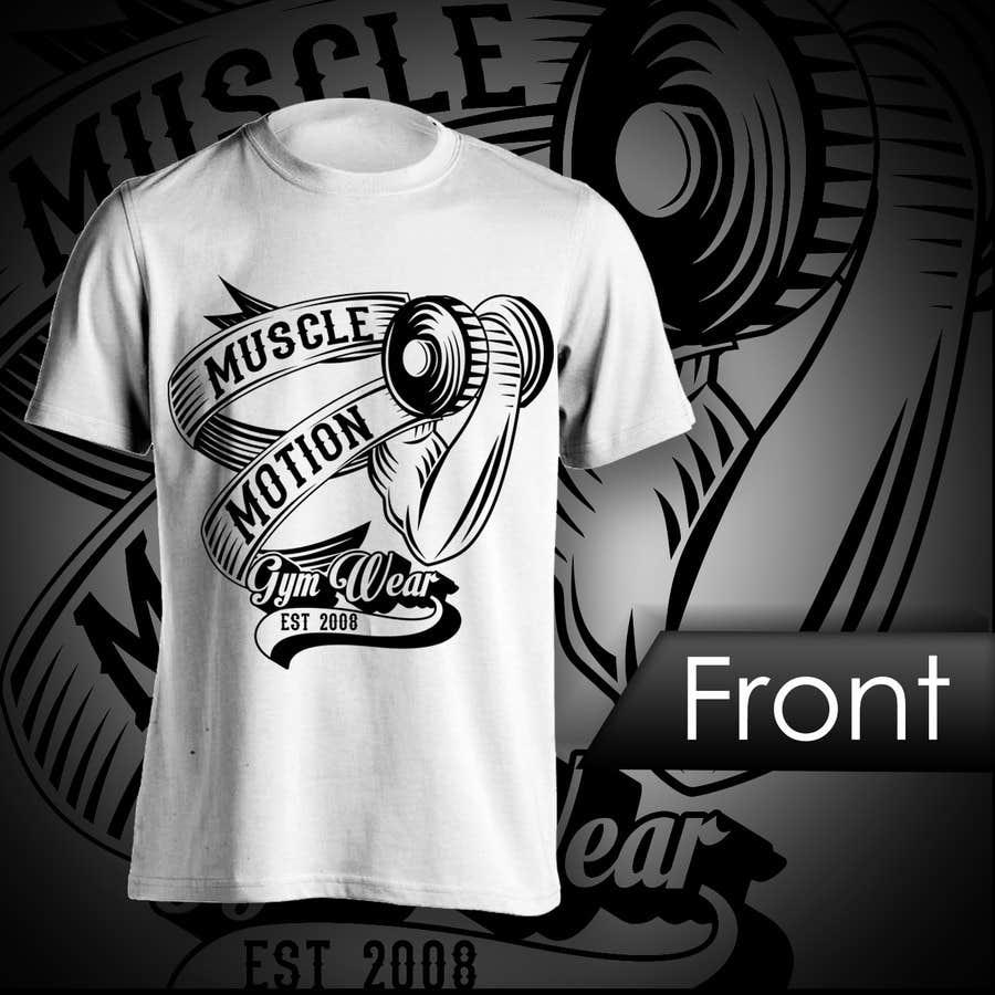 Konkurrenceindlæg #                                        13                                      for                                         Design a T-Shirt for Mens Gym Wear.