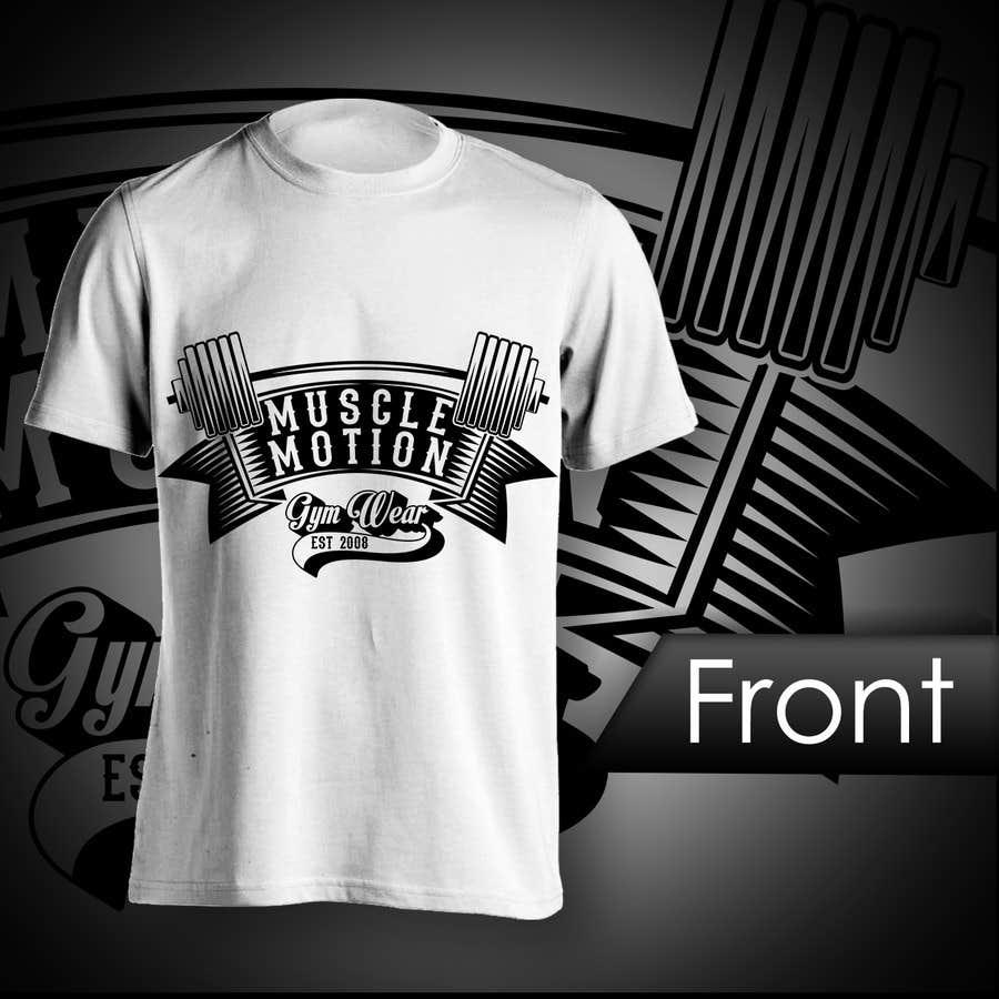Konkurrenceindlæg #                                        16                                      for                                         Design a T-Shirt for Mens Gym Wear.