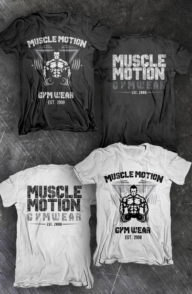 Konkurrenceindlæg #                                        23                                      for                                         Design a T-Shirt for Mens Gym Wear.