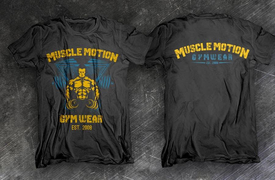 Konkurrenceindlæg #                                        53                                      for                                         Design a T-Shirt for Mens Gym Wear.