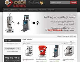 #84 para Design a Logo for home espresso machines por DigiMonkey