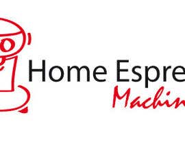 #53 para Design a Logo for home espresso machines por lineados