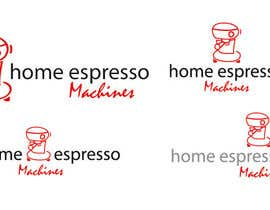 #62 para Design a Logo for home espresso machines por lineados