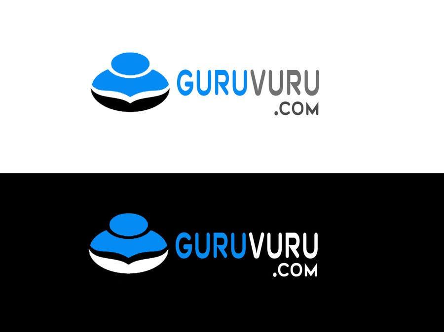 Proposition n°                                        16                                      du concours                                         Design a Logo for www.guruvuru.com