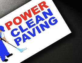 #8 para Design a Logo for Power Clean Paving por CodeIgnite