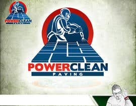 #2 untuk Design a Logo for Power Clean Paving oleh knon25