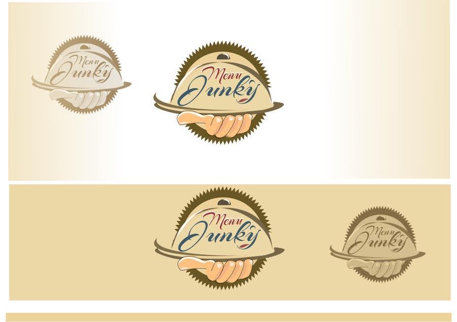 Proposition n°101 du concours Design a Logo for MenuJunky
